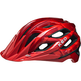KED Companion Helmet Red Glossy